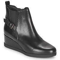 Chaussures Femme Bottines Geox ANYLLA WEDGE Noir