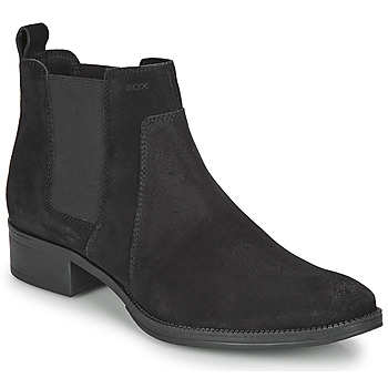 Chaussures Femme Bottines Geox LACEYIN Noir
