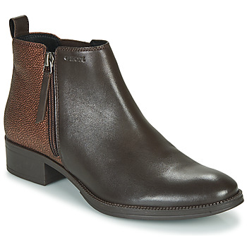 Chaussures Femme Bottines Geox LACEYIN Marron