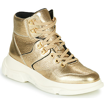 Chaussures Femme Bottines Geox MACAONE Or