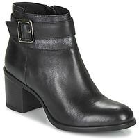Chaussures Femme Bottines Geox NEW ASHEEL Noir
