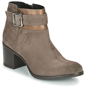 Chaussures Femme Bottines Geox NEW ASHEEL Beige