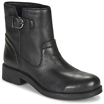 Chaussures Femme Boots Geox RAWELLE Noir