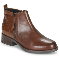 Chaussures Femme Boots Geox RESIA Marron
