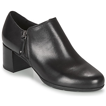 Chaussures Femme Low boots Geox NEW ANNYA MID Noir