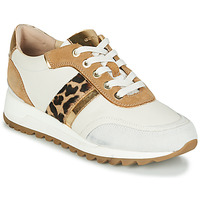 Chaussures Femme Baskets basses Geox TABELYA Blanc / Léopard