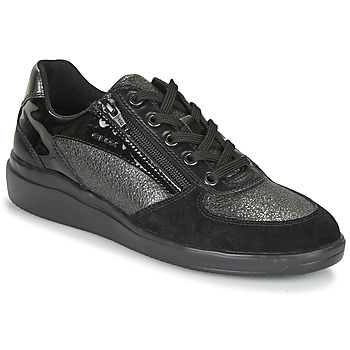 Chaussures Femme Baskets basses Geox TAHINA Noir