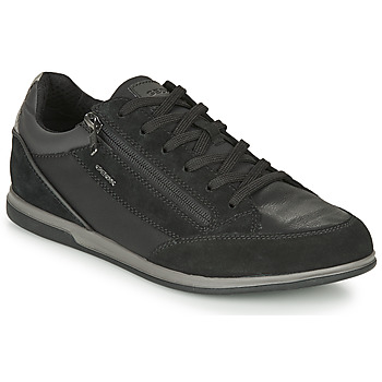 Chaussures Homme Baskets basses Geox RENAN Noir