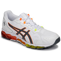 Chaussures Homme Baskets basses Asics GEL-QUANTUM 360 6 Blanc / Orange / Vert