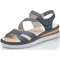 Chaussures Femme Sandales et Nu-pieds Rieker 67969 bleu