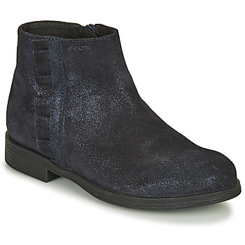 Chaussures Fille Boots Geox AGGATA Marine