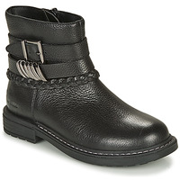 Chaussures Fille Boots Geox ECLAIR Noir