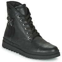 Chaussures Fille Boots Geox GILLYJAW Noir
