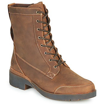 Chaussures Femme Boots Timberland GRACEYNMIDLACEUPWP Marron
