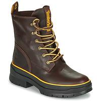 Chaussures Femme Boots Timberland MALYNN MID LACE EK+ WP Marron foncé