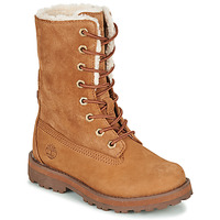 Chaussures Enfant Boots Timberland COURMA KID SHRL RT Marron