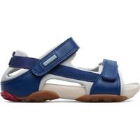 Chaussures Garçon Sandales et Nu-pieds Camper Sandales  Ous Kids bleublanc