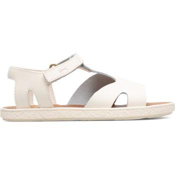 Chaussures Fille Sandales et Nu-pieds Camper Sandales cuir Miko Kids beige