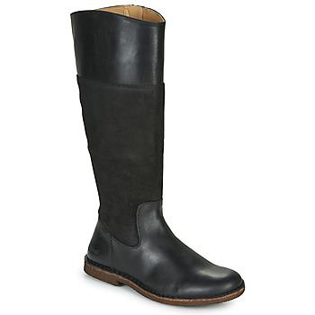 Chaussures Femme Bottes ville Kickers TAKIKO Noir