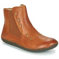 Chaussures Femme Boots Kickers HAPPLI Marron