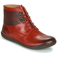 Chaussures Femme Boots Kickers HOBBYTWO Cramoisi