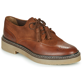 Chaussures Femme Derbies Kickers OXANYBY Marron