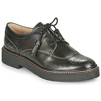 Chaussures Femme Derbies Kickers OXANYBY Argent Noir