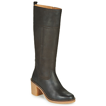 Chaussures Femme Bottes ville Kickers AVERNO Marron Fonce