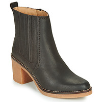 Chaussures Femme Boots Kickers AVERNY Marron Fonce