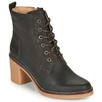 Chaussures Femme Bottines Kickers AVERNE Marron Fonce