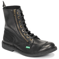 Chaussures Homme Boots Kickers KICKSTONERY ZIP Noir