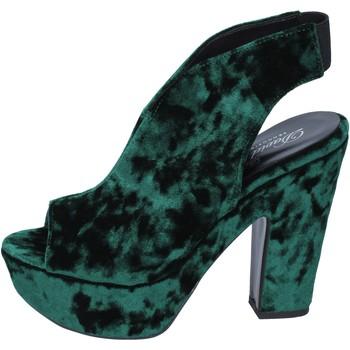 Chaussures Femme Sandales et Nu-pieds David Haron sandales velours vert