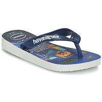 Chaussures Garçon Tongs Havaianas KIDS MINECRAFT Bleu