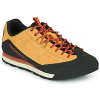 Chaussures Homme Baskets basses Merrell CATALYST SUEDE Camel / Noir