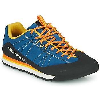 Chaussures Homme Baskets basses Merrell CATALYST SUEDE Bleu