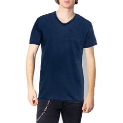 Vêtements Homme T-shirts manches courtes Brian Brome 23/102-398 bleu