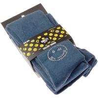 Sous-vêtements Fille Collants & bas Smiley Collant chaud - Coton - Ultra opaque Bleu