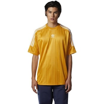 Vêtements Homme T-shirts manches courtes adidas Originals Originals Jacquard 3 Stripes Tshirt Jaune