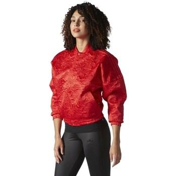Vêtements Femme Vestes adidas Originals Originals Tracktop Bomber Rouge