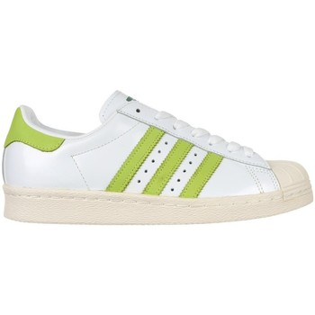Chaussures Homme Baskets basses adidas Originals Superstar 80S Blanc,Vert