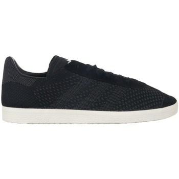 Chaussures Homme Baskets basses adidas Originals Gazelle Primeknit Noir
