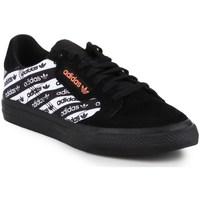 Chaussures Homme Baskets basses adidas Originals Continental Vulc Blanc, Noir
