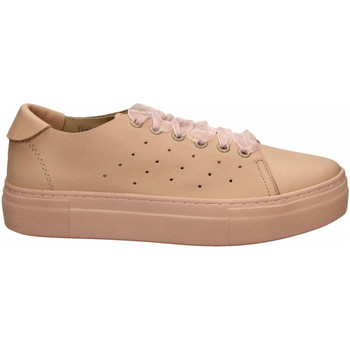 Chaussures Femme Baskets basses Wave NAPPA nude