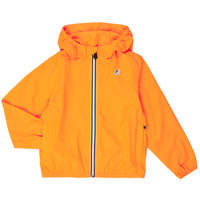Vêtements Enfant Coupes vent K-Way LE VRAI 3.0 CLAUDE KIDS Orange