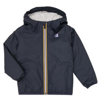 Vêtements Enfant Blousons K-Way LE VRAI 3.0 CLAUDE ORSETTO KIDS Marine