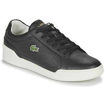 Chaussures Femme Baskets basses Lacoste CHALLENGE 0120 1 SFA Noir / Blanc