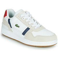 Chaussures Homme Baskets basses Lacoste T-CLIP 0120 2 SMA Blanc / Marine / Rouge