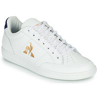 Chaussures Femme Baskets basses Le Coq Sportif COURT CLAY W Blanc / Bleu