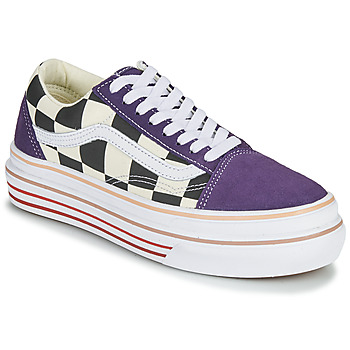 Chaussures Femme Baskets basses Vans SUPER COMFYCUSH OLD SKOOL Violet
