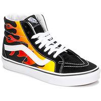 Chaussures Baskets montantes Vans Sk8-Hi Reissue Noir / Flame